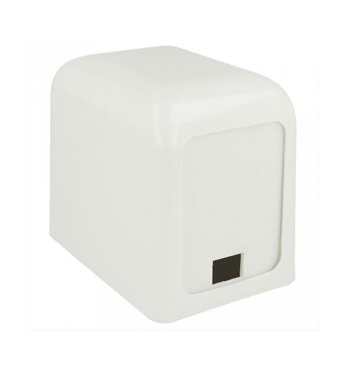 Distributeur à Serviettes Plastique Blanc 15x10x12,5cm (12 Utés)