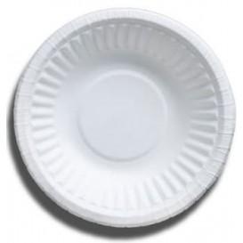 Bol en Papier Blanc Biodégradable 250ml (50 Unités)
