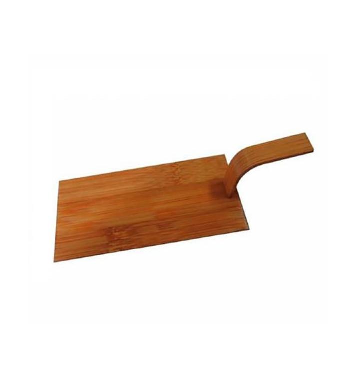 Mini Pelle Bambou Naturel Pour Tapas 10x5 cm (100 Utés)