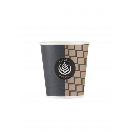 Gobelet Carton Cupmatic 6 Oz/192ml Ø7,0cm (100 Utés)
