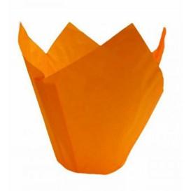 Caissette Muffin Tulipe Ø50x42/72 mm Orange (2160 Utés)