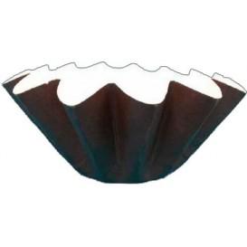 Caissette Muffin Tulipe Twist Ø50x65/98 mm Marron (3600 Utés)
