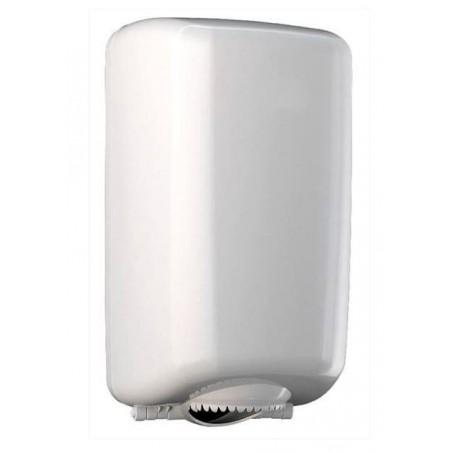 Distributeur Essuie-Tout Mini Dévidage Central ABS Blanc (1 Uté)