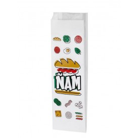 Sac sandwich Ñam 10+4x29cm (1000 Utés)