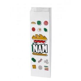 Sac sandwich Ñam 10+4x33cm (125 Utés)