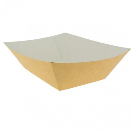 Barquette Carton 525ml Kraft 12,2x8,0x5,5cm (600 Utés)