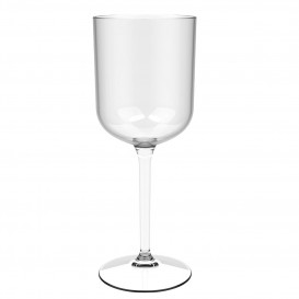 """Flûte Réutilisable Vin """"Bio Based"""" Tritan 420ml (6 Utés)"""