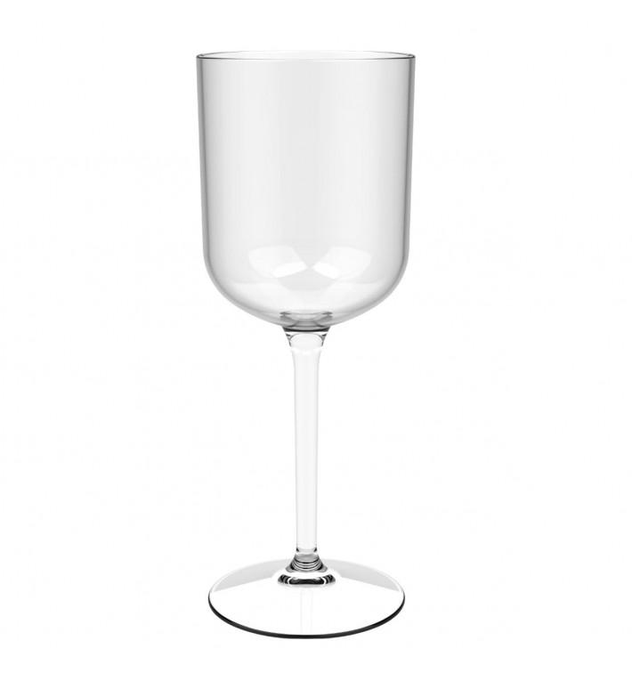 """Flûte Réutilisable Vin """"Bio Based"""" Tritan 420ml (1 Uté)"""