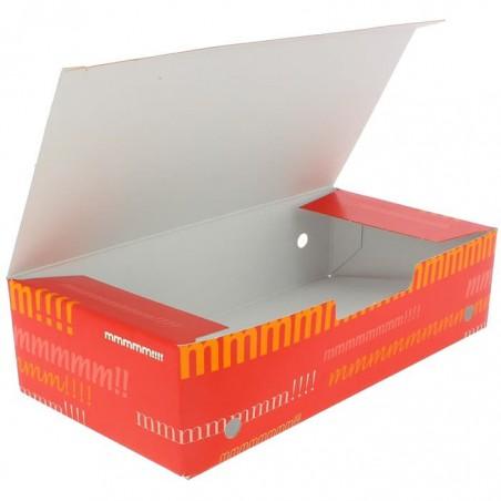 Boîte pour repas à emporter Grand 200x100x50mm (375 Utés)
