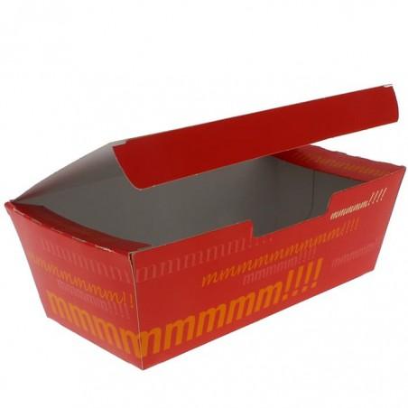 Boîte pour repas à emporter 16,5x7,5x6cm (25 Utés)
