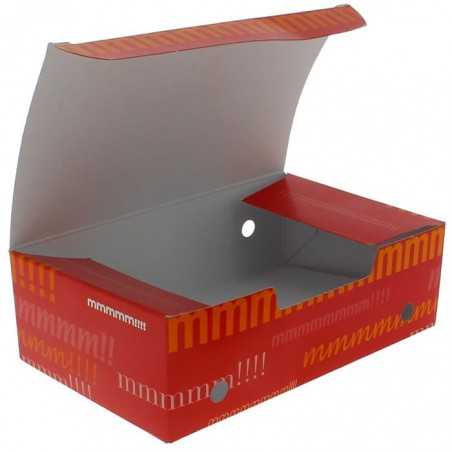 Boîte pour repas à emporter Moyen 145x90x45mm (450 Utés)