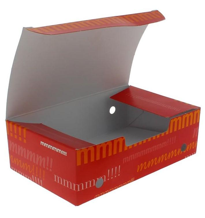 Boîte pour repas à emporter Moyen 145x90x45mm (25 Utés)