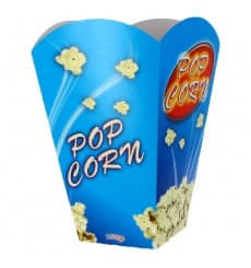 Etuis à Pop-Corn Grand 150g 8,7x13x20,3cm (25 Unités)