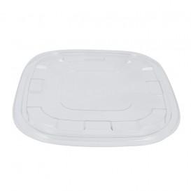 Couvercle Plastique PET Transp. pour Bol 27x27cm (25 Utés)