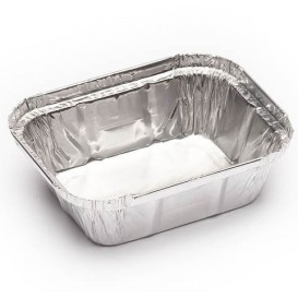 Emballage aluminium 250ml 128x100x32mm (100 Utés)