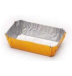 Caissette Pâtisserie Aluminium 50x30x16mm (100 Utés)