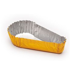 Caissette Pâtisserie Aluminium 67x60x15mm (100 Utés)