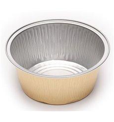 Godet en Aluminium Paroi Lisse 135 ml (166 Unités)
