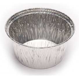 Moule Aluminium Rond Flan 110ml (100 Unités)