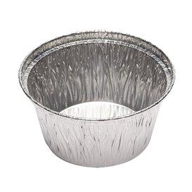 Moule Aluminium Rond Flan 110ml (2000 Unités)