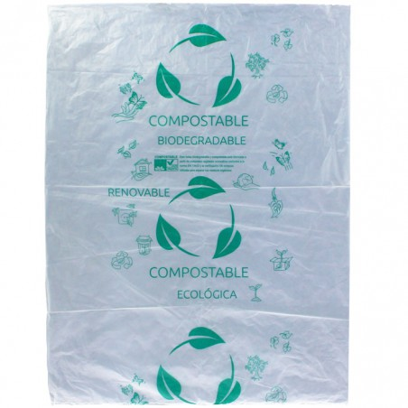 Sac Abattoir Plastique 100% Biodégradable 30x40cm G50 (3000 Utés)