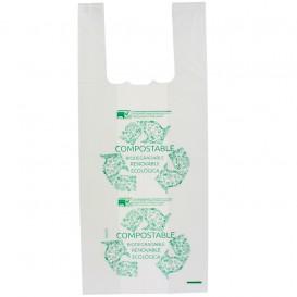 Sac à Bretelles 100% Biodégradable 35x50cm (100 Utés)