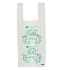 Sac à Bretelles 100% Biodégradable 35x50cm (2000 Utés)