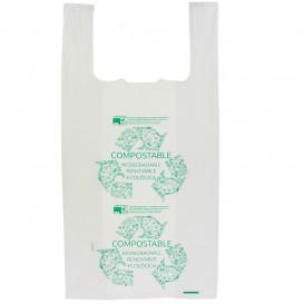 Sac à Bretelles 100% Biodégradable 40x50cm (100 Utés)