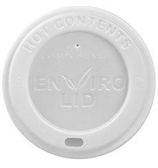 Couvercle en PLA pour Gobelet Carton 12, 16 et 22 Oz Ø9cm (100 Utés)