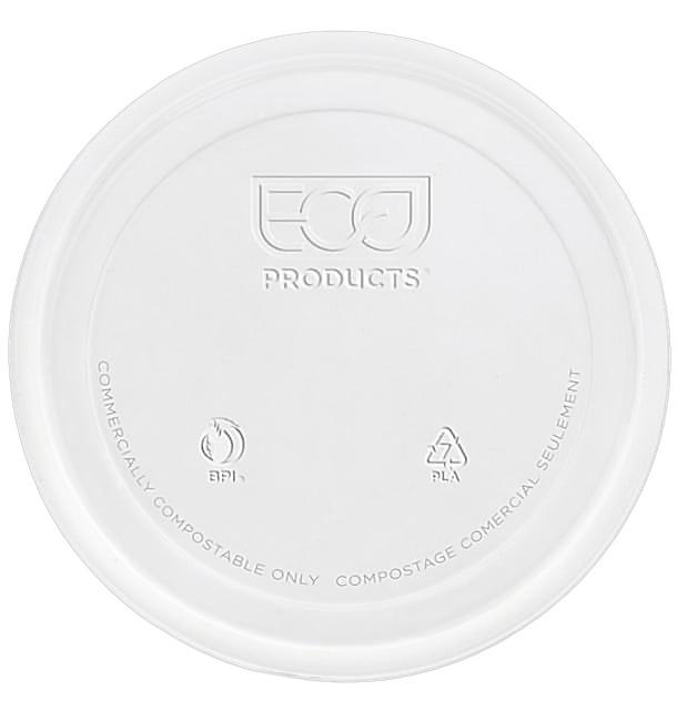 Couvercle Récipient Compostable PLA 235,355,470,940ml (500 Utés)