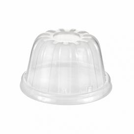 Couvercle Haut Plastique PS Transparent Ø8,9cm (50 Utés)