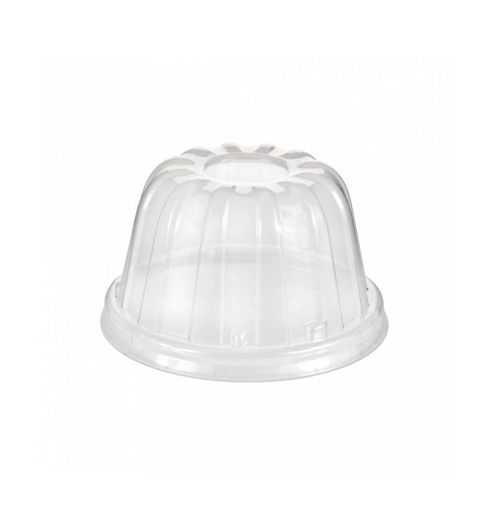 Couvercle Haut Plastique PS Transparent Ø8,9cm (1000 Utés)
