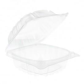 """Boîte Couvercle Charnière OPS """"Clear Seal"""" Pour Sandwich120ml (125 Utés)"""