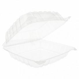 """Boîte Couvercle Charnière OPS """"Clear Seal"""" 335ml (250 Utés)"""