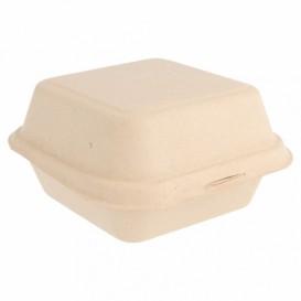 Boîte en Canne à Sucre Naturel 152x152x84mm (600 Utés)