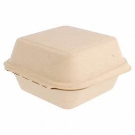 Boîte en Canne à Sucre Naturel 152x152x84mm (50 Utés)