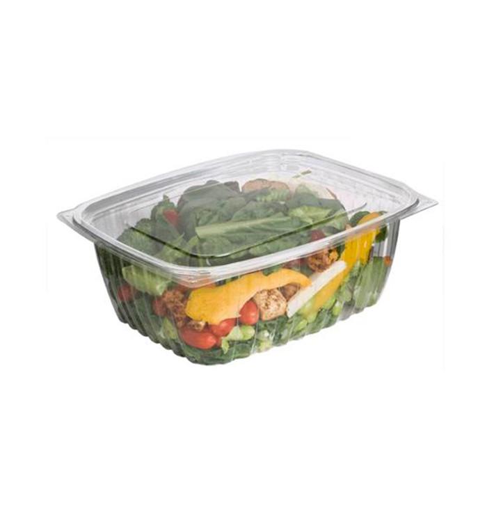 Emballage Compostable PLA avec Couvercle 1890ml (200 Utés)