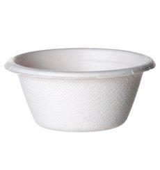 Pot Canne à Sucre Bagasse Blanc 60ml (2500 Utés)