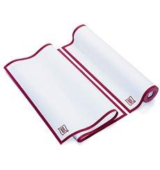 """Torchons """"Roll Drap"""" avec Bandes Bordeaux 40x64cm P40cm (200 Utés)"""
