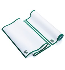 """Torchons """"Roll Drap"""" avec Bandes Vert 40x64cm P40cm (200 Utés)"""