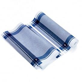 """Torchons """"Roll Drap"""" Vintage Bleu 40x64cm P64cm (10 Utés)"""