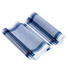 """Torchons """"Roll Drap"""" Vintage Bleu 40x64cm P40cm (10 Utés)"""