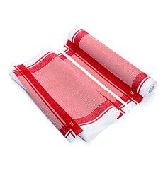 """Torchons """"Roll Drap"""" Vintage Rojo 40x64cm P40cm (10 Utés)"""