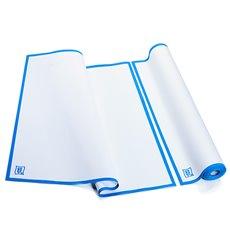 """Torchons """"Roll Drap"""" avec Bandes Bleu 52x64cm P52cm (10 Utés)"""