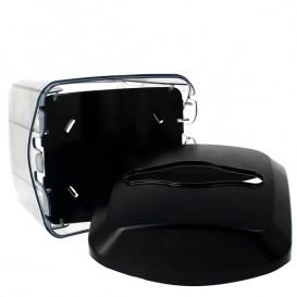 Distributeur à Serviettes ABS Noir 15,5x13,5x15,0cm (1 Uté)