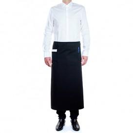 Tablier Français avec 2 poches Noir 90x110cm (1 Uté)