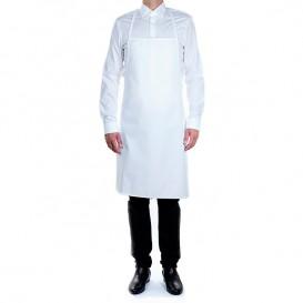 Tablier Plastifié Blanc 75x90cm (20 Utés)