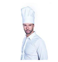 Toque Cuisinier Chef Coton Blanc (1 unité)