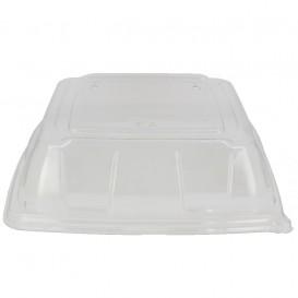Couvercle Plastique PET Transp. Plateau 27x27cm (25 Utés)