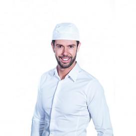 Bandana Cuisinière Coton Blanc (1 unité)